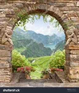 фотообои с арками